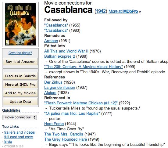 casablanca movie analysis